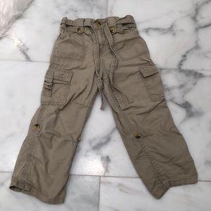 Cherokee cargo convertible pants